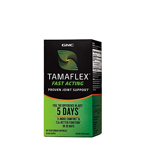 GNC TamaFlex Fast Acting, 60 Vegetarian Capsules, Joint Support
