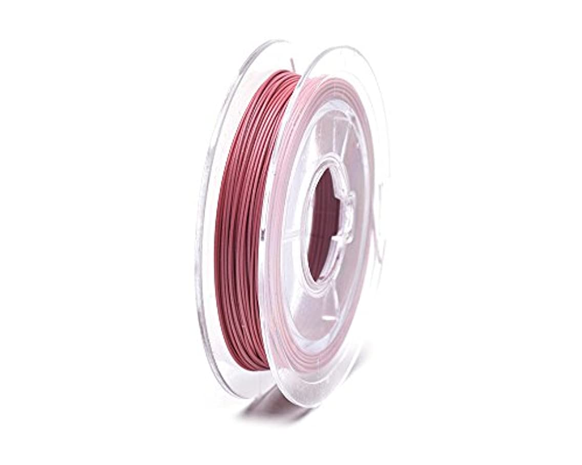 Beads Unlimited Plastic Coated Pink Beading Wire 0.45mm-6 reels of 10m
