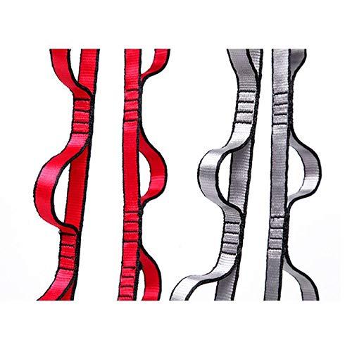 N\C Cuerda para colgar cuerda de escalada crisantemo yoga estiramiento cinturón extensor correa cuerda para yoga aérea hamaca swing vuelo anti-gravedad