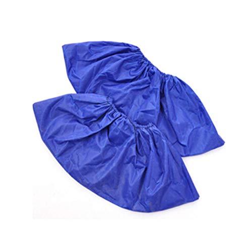 everd1487HH - 1 par de Botas de Lluvia de 32 cm, Reutilizables, Impermeables, Color sólido, para Hombre y Mujer
