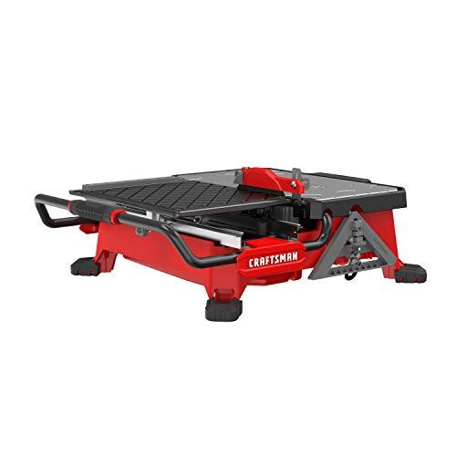 CRAFTSMAN 20V MAX Wet Saw, Compact Sliding, 7-Inch (CMCS4000M1)