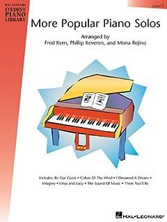 Hal Leonard Student Piano Library: More Popular Piano Solos - Level 5