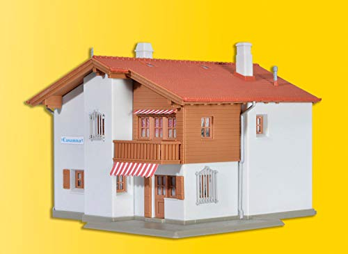 Viessmann 48816 H0 Maison Casanna à Davos avec kit d'éclairage Domestique