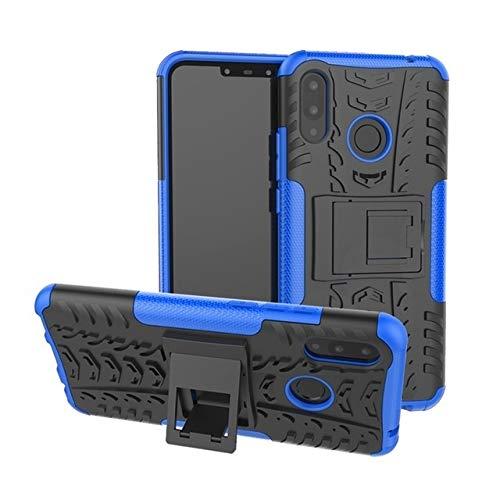 HHF - Accesorios para teléfono celular Huawei P Smart P30 P10 P20 Mate 9 10 20 Lite Pro, TPU + PC Funda Soporte para Huawei Honor 8X Max 7A 5X 6X 10 8 Nova 3i (Color: Slan, Material: P30)