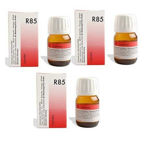 """3 x Dr. Reckeweg - Homeopathic Medicine - R85 - High Blood Pressure Drops.""""Shipping by FedEx"""" by Dr. Reckeweg"""