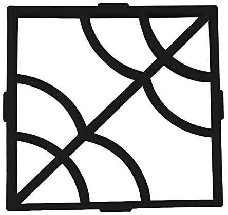 QAZXCV Außenschmucksteine Auffahrt Pflaster Pavement-Maschine Betonform-Garten Zement Pflasterform Für Gärten, Gericht Werften, Patios Und Spaziergänge