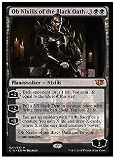 Magic: the Gathering - Ob Nixilis of the Black Oath (027/337) - Commander 2014