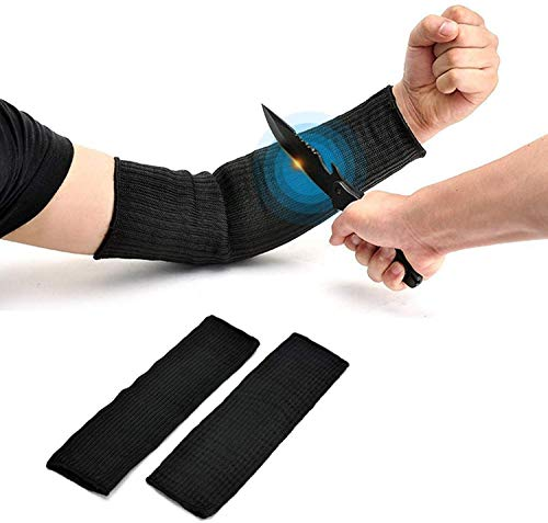 Yosoo manga de Proteger del brazo,manga anticorte las mangas de fibra guante de...