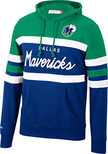 Mitchell & Ness Dallas Mavericks NBA Head Coach Hoody Hoodie Sweater Herren Mens