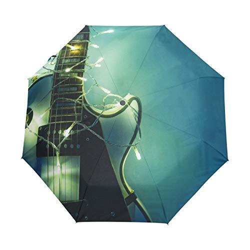 Paraguas de Viaje pequeño a Prueba de Viento al Aire Libre Lluvia...