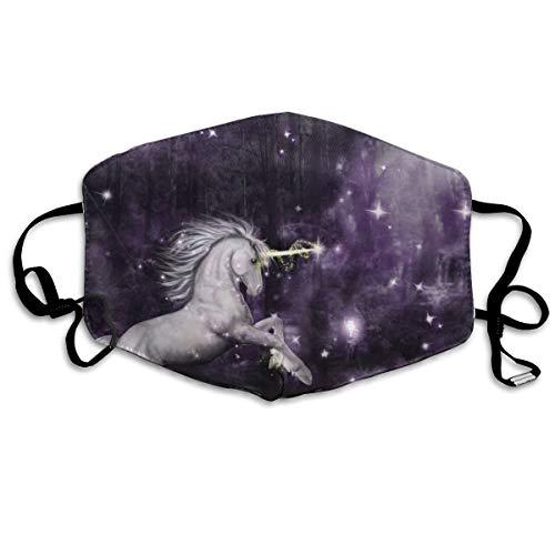 Houity stofdicht wasbaar masker, speciale eenhoorn elfen spelen, zacht, ademend, wasbaar, knop verstelbare masker, geschikt voor mannen en vrouwen maskers