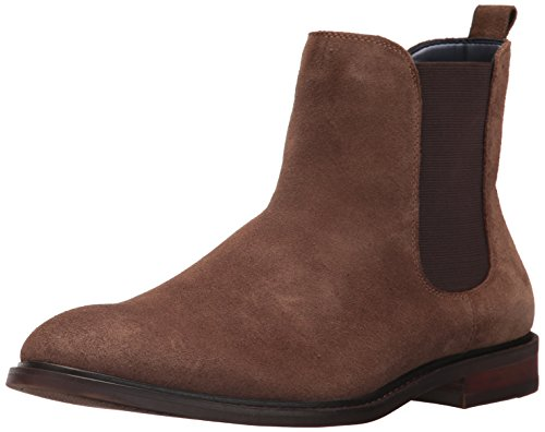 Steve Madden Men's Backfire Chelsea Boot, Taupe Suede, 12 US/US Size Conversion M US