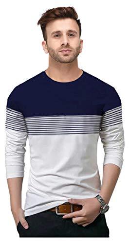 FastColors Mens Round Neck Tshirt (XX-Large, White)