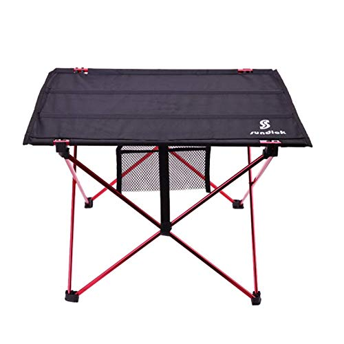 None/Brand Lightweight Aluminium Alloy Portable Folding Table For Camping Outdoor Activties Foldable Picnic Barbecue Desk Folding Table
