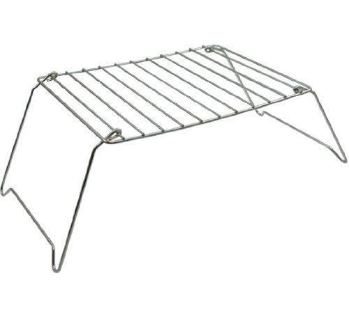 Relags Campinggrill / Klappgrill -Basic-, aus verchromtem Stahl (Grillfläche: 29 x 21,5 cm)