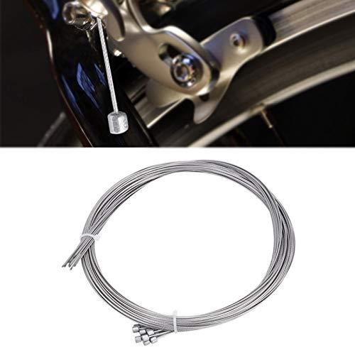 SALUTUYA Tapas de engarce de Extremo de Cable de desviador de Bicicleta 10 Piezas 2 m, para Bicicletas, para Sistema de Control de Velocidad de Bicicleta de montaña, para Bicicletas de montaña
