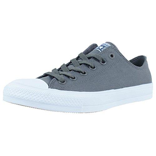 Converse Ct II Ox, Sneaker a Collo Basso Uomo, Grigio (Thunder/White/Navy), 36 EU