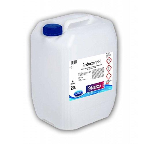 Reductor pH Líquido para Piscinas Nazza | Garrafa de 20 Litros
