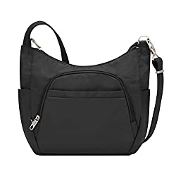 Travelon Anti-Theft Cross-Body Bucket Bag, best anti-theft handbags, theft-proof handbags, anti-theft luggage theft-proof luggage, anti-theft bags, theft-proof bags, travel safety, travel security
