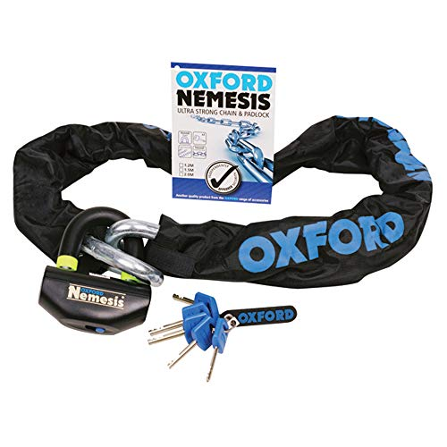 of330 – Oxford Nemesis Chain & Lock 1.2 m