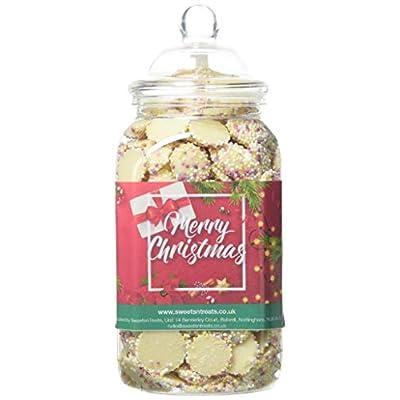 mr tubbys white chocolate jazzies - merry christmas red label - medium jar 650g (pack of 1) Mr Tubbys White Chocolate Jazzies – Merry Christmas Red Label – Medium Jar 650g (Pack of 1) 41ppTR8oIGL