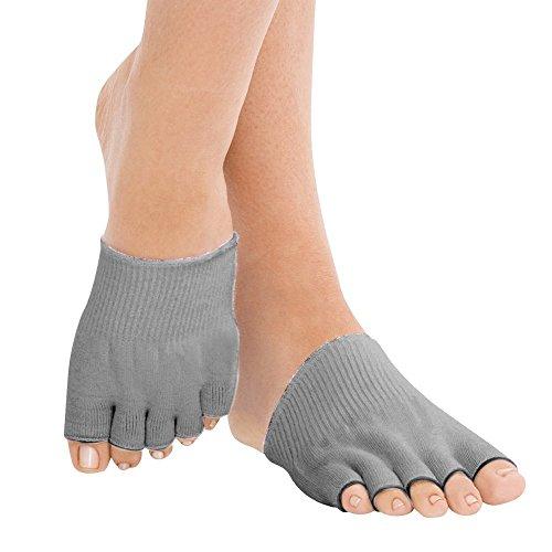 FootSmart Gel-Lined Compression Toe Separating Socks, Pair
