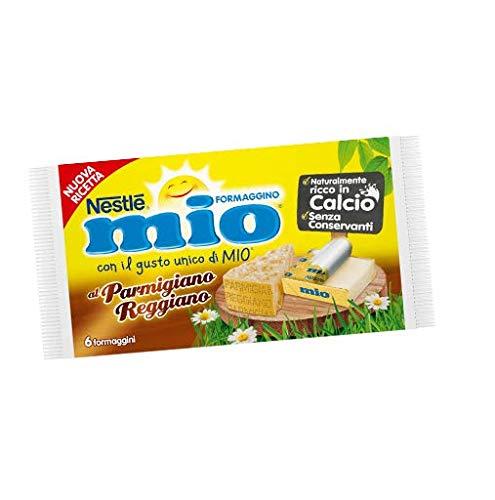 Nestlè Formaggino Mio Parmesan Parmigiano Käse Frischkäse reich Kalzium 125g