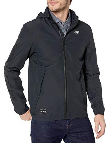 Fox Racing Herren Cascade Jacket Regenjacke, schwarz, Large