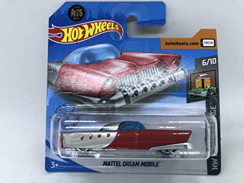 2020 Hot Wheels Mattel Dream Mobile 6/10 HW Dream Garage 129/250 (Tarjeta corta)