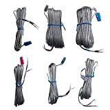 Replacement Speaker Wire/Cords for Samsung HT-XA100 HT-XQ100 HT-X250 HT-X40 HT-X715 HT-X715T HT-X725 HT-BD1250 HT-BD2E HT-C5500 HT-C6600 HT-C6500 HT-C6730W SWA-4000 Home Cinema System