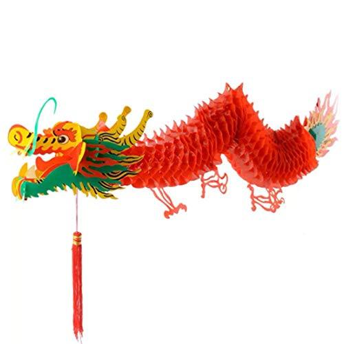 SISHUINIANHUA Chinesisches Neujahr Drache Girlande Hängende Dekoration Laterne Drachen Boot Festival Einkaufszentrum Supermarkt Ornament
