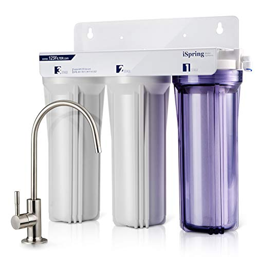 iSpring US31 3-Stage Under Sink Water Filtration System