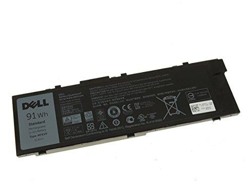 Original Dell Precision 15 7510, 17 7710, 91WH Akku MFKVP