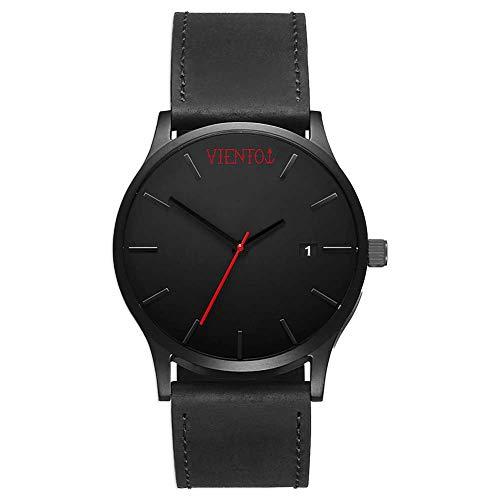 VIENTO Elegant Uhr (Schwarz)
