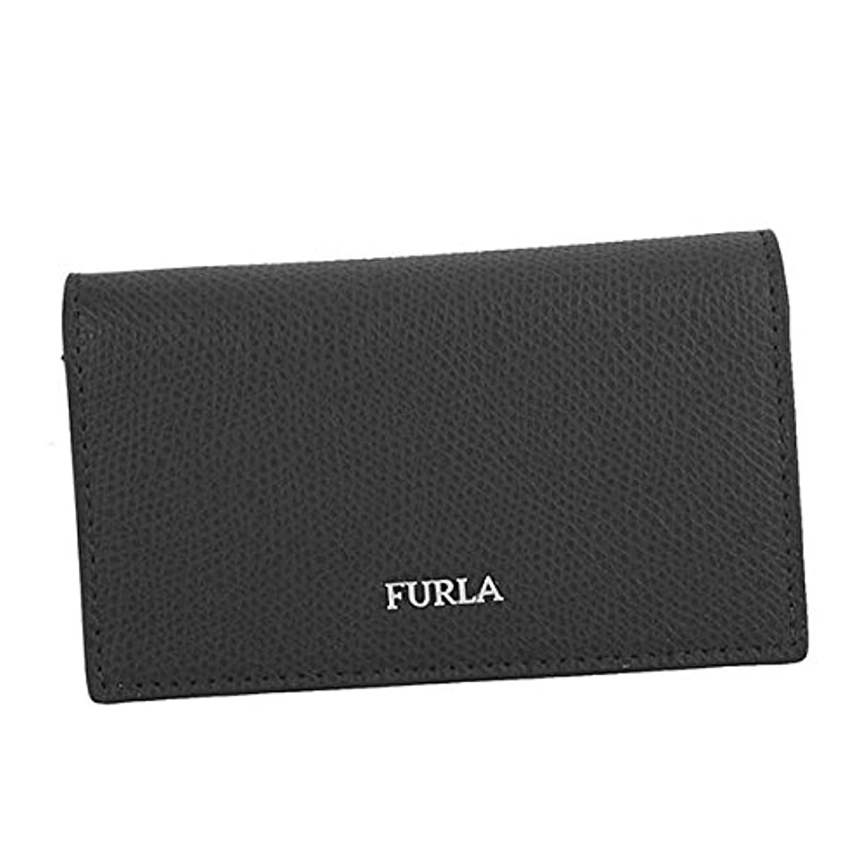 シーズンサッカー真実に(フルラ) FURLA MARTE BUSINESS CARD CASE 名刺入 #PT65 ATT O60 938192 ONYX 並行輸入品