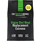 The Protein Works Batido Sustitutivo Vegano | Plátano Suave 2000 g
