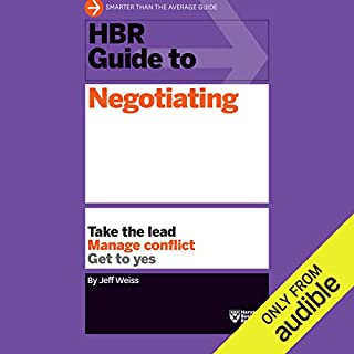 HBR Guide to Negotiating cover art
