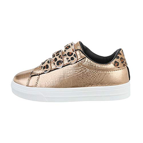 Ital-Design Damesschoenen Low-top sneakers