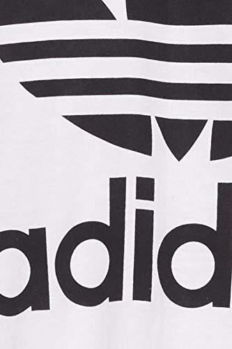 Adidas Men's Originals Trefoil T-Shirt - White, Medium