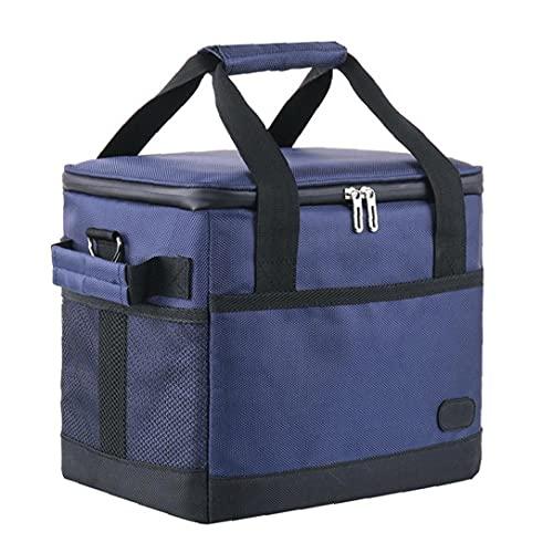 Budstfee Isolierter Kühler-Taschen-tragbares thermisches Picknick-Mittagessen-Aufbewahrungsbox Camping Lebensmittelbehälter 10L