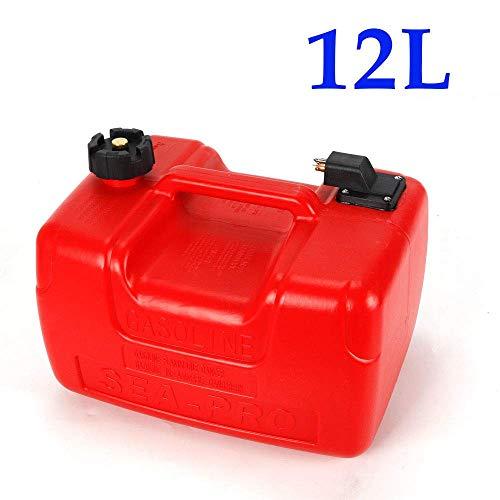 Relaxbx 3.2 Gallon / 12 Liter met Connector Boot Benzine Buitenboordmotor Benzine Tank Benzine Boot Buitenboordmotor