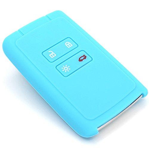 Funda de silicona de Finest-Folia, para llaves de coche con 4 botones...