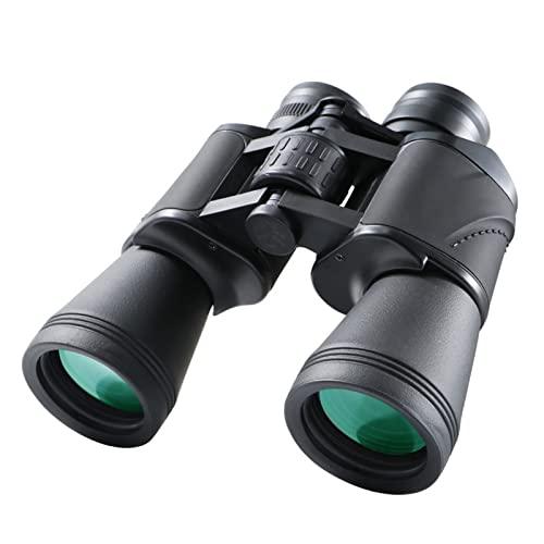Binoculares Portátiles For Observación Aves, Compacto 20x50 Adultos Telescopio, Bak4 Prisma Fmc Lentes, Visión Nocturna Baja Luz, For Caza,Senderismo,Stargazing,Conciertos, Competencia Deportiva