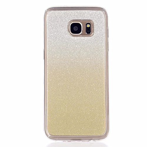 MUTOUREN Funda de movil Samsung Galaxy S6 Edge TPU Silicona