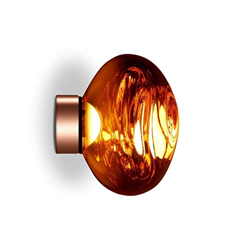 Preisvergleich Produktbild Tom Dixon - Melt Mini Surface LED-Deckenleuchte,  Kupfer