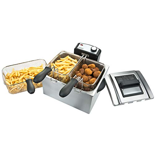 Bourgini Classic Triple Deep Fryer - Fritteuse - 5.0 L