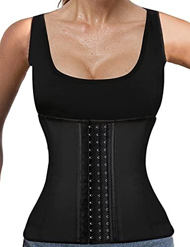 LaLaAreal Fajas Reductoras Corset Cincher Bustiers Corsé Adelgazantes de Cinturón Formación para Body Shaper Mujer S ⭐