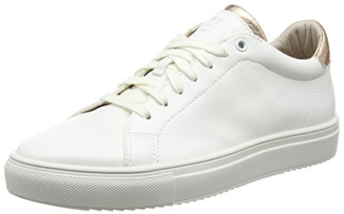 ESPRIT Damen Sandrine Lace Up Sneakers, Weiß (White 100), 40 EU