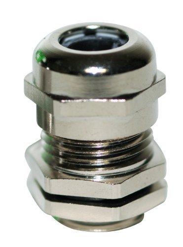 Kabelverschraubung Kabelverbinder Metall Größe M63 x 1,5 mit Gegenmutter, zur Kabeldurchführung, Messing, 50 Stück