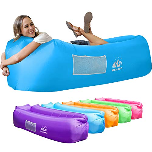 Wekapo Inflatable Lounger Air Sofa Hammock-Portable,Water Proof& Anti-Air...